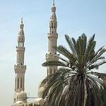 The big mosque in Dubai.